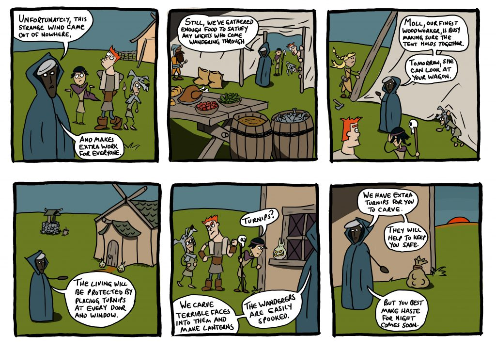 Introductory comic for session 4, part 2